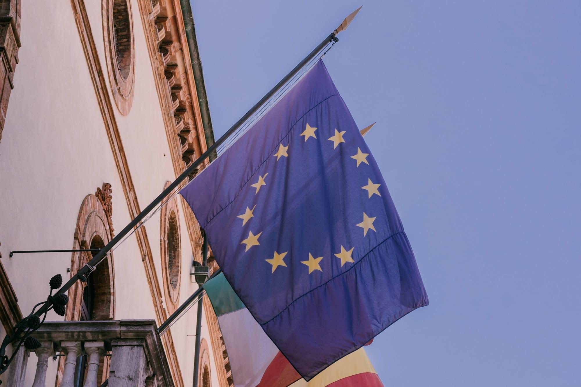 European Union Flag.